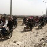 En optrappet offensiv mod Islamisk Stat i Raqqa ventes inden for kort tid.