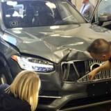 Den selvkørende Uber-bil, som 20. marts var involveret i en fatal ulykke i Tempe, Arizona.