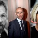 Selvom der ikke er enighed om sparemulighederne i DR, er de tre mediechefer, (fra venstre) Anders Krab-Johansen, Stig Ørskov og Maria Rørbye Rønn, enige om at være skeptiske over for Venstres forslag om en ny public service-pulje og en ny medie-app.