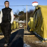 ARKIVFOTO. Mohamad Salai, asylansøger i Næstved teltlejr.