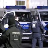 I 2017 blev tuneseren Haikel S. anholdt under en terrorrazzia i Frankfurt (billedet). Nu har den tyske forfatningsdomstol afgjort, at manden kan udvises til Tunesien, hvor han er anklaget for at begå terror på vegne af Islamisk Stat.