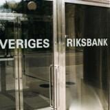 Arkivfoto. Den svenske centralbank får sværere ved at forklare sin »ultralempelige pengepolitik«, efter at svenske inflationstal tirsdag morgen var højere end ventet og derfor styrkede den svenske krone.