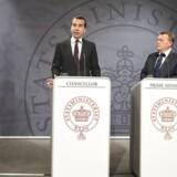 Statsminister Lars Løkke Rasmussen mødtes tirsdag den 18. april 2017 med Østrigs kansler Christian Kern i Statsministeriet. På mødet drøftede statsministeren og kansleren blandt andet aktuelle EU-emner og håndteringen af Brexit forud for EU27-topmødet i Bruxelles senere på måneden.