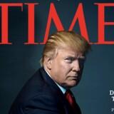Donald Trump blev i 2016 tildelt prisen som årets person af magasinet Time. I år har han ifølge ham selv takket nej til samme pris. Reuters/Handout/arkiv