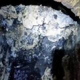 Fedtklumpen i Londons kloak kan blive historie, mener Museum of London, der vil udstille en del af den. Reuters/Handout