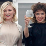 epa05298178 Jury members, Italian actress Valeria Golino (R) and US actress Kirsten Dunst (L) attend a cocktail reception for the jury at the Martinez Hotel ahead of the 69th annual Cannes Film Festival, in Cannes, France, 10 May 2016. The festival runs from 11 to 22 May. EPA/GUILLAUME HORCAJUELO