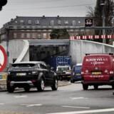Kl. 12:30 mandag kørte de første bilister ind på Nordhavnsvej. Foto: Thomas Lekfeldt