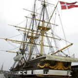 ARKIVFOTO: Fregatten Jylland.