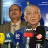 Den irakiske olieminister, Jabar Ali al-Luaibi.