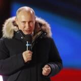 Vælgerne belønner Putin for ambitionen om at gøre Rusland til supermagt, vurderer danske politikere.