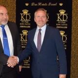 Danmarks udenrigsminister mødte onsdag eftermiddag Israels forsvarsminister Avigdor Lieberman i Jerusalem.