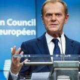 Donald Tusks indtryk er, at »begge sider kun udviser god vilje« i forhandlingerne om britisk exit fra EU.