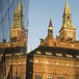 Akademikerne på blandt andet Københavns Råshus er sjældent syge.