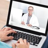 Der er nærmest ingen steder i landet, hvor det er umuligt at bruge digitale velfærdsydelser over nettet som f.eks. videokonsultation med lægen. Arkivfoto: Iris/Scanpix