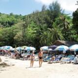 Badestrand på Phuket.