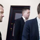 René Christensen, Dennis Flydtkjær og Kristian Thulesen Dahl.