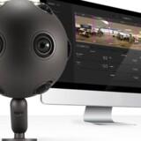 Ozo-kameraet, der kan filme 360 grader rundt, bliver nu aflivet af Nokia, som ikke kan få en forretning ud af sin satsning på den virtuelle verden. Foto: Nokia