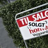 ARKIVFOTO: Nordea venter, at de nominelle huspriser vil stige 4,3 pct. i år