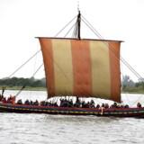 Arkivfoto: Vikingeskib.