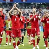 Danmark kunne gå fra kampen mod Peru med tre point. EPA/ERIK S. LESSER EDITORIAL USE ONLY