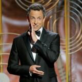 Seth Meyers ved Golden Globes, der blev uddelt i nat for 75. gang.