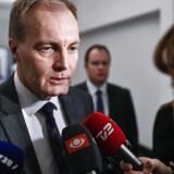 Arkivfoto: Dansk Folkeparti håber, at sygemeldte Morten Messerschmidt kommer tilbage, siger gruppeformand Peter Skaarup.