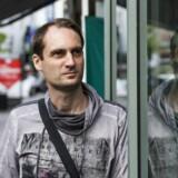Niels Vestergaard Thomsen er 40 år, lektor i fransk og tysk og eksistenielt angst for, at Venligboerne er ved at gøre det samme som tyskerpigerne under Anden Verdenskrig. Foto: Bo Amstrup,