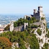 Bjergstaten San Marino overhaler de store teknologinationer Japan og Sydkorea indenom og bliver den første stat i verden med landsdækkende 5G-mobilnet - selv om 5G overhovedet ikke er færdigt endnu. Arkivfoto: Shutterstock/Scanpix
