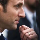 Arkivfoto. Emmanuel Macron vil få flertal ved det franske parlamentsvalg i juni, viser ny meningsmåling.