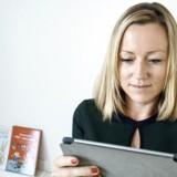 """Henriette Høj Gharib. Tidligere Nordisk Film-direktør har startet """"Fairytell"""" - vil gøre børnebøger til big business."""