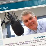 """Philipp Skafte-Holm rådgiver både læger og radiolyttere i Sønderjylland. Han har skrevet bogen """"Syge Børn - Hvad Kan Jeg Gøre""""."""