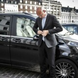 Europcar garanterer komfort og professionelle chauffører. Jan Vistesen har ti års erfaring i branchen.