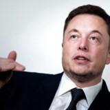 Spørgsmålene om Elon Musks evne til at finansiere en børsexit for Tesla fyger i den amerikanske presse. (Photo by Brendan Smialowski / AFP)