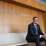 Bo Normann Rasmussen, topchef i AP Pension, ser frem til at kunne føje 93.000 ekstra kunder til forretningen, når milliardopkøbet af Skandias danske forretning går igennem.