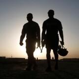 Amerikanske soldater i Afghanistan lørdag d. 4. august.