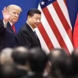 Kina har beskyldt USA for at starte en handelskrig, efter at USA har indført told på kinesiske varer for milliarder.