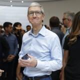 Apple-topchef Tim Cook kan være godt tilfreds med IT-gigantens regnskab, der sendte selskabets aktiekurs i vejret.