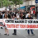 Det er det slagkraftige fagforbund CGT og 80 andre forbund, som arrangerer lørdagens demonstrationer.
