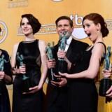 En del af castet fra Downtown Abbey til Screen Actors Guild Award i 2013