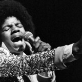 Michael Jackson som yngste medlem af Jackson Five i 1974. REUTERS/Allen Fredrickson/Files (UNITED STATES ENTERTAINMENT OBITUARY) c02 20090627.imid.