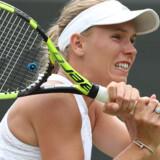 Caroline Wozniacki måtte se sig slået af Ekaterina Makarova i tre sæt. Daniel Leal-olivas/Ritzau Scanpix