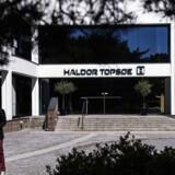 Haldor Topsøe hovedkvarteret fotograferet i forbindelse med fyringsrunden i august 2015.