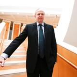 BP's direktør Bob Dudley i den britiske oliegigants internationale hovedkvarter i London. REUTERS/Henry Nicholls