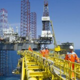 En tønde af Brent-olien koster tirsdag morgen 72,87 dollar mod 73,66 dollar mandag eftermiddag. Den amerikanske WTI-olie handles samtidig i 67,68 dollar mod 68,58 dollar mandag eftermiddag. (Foto: CLAUS FISKER/Scanpix 2015)