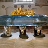 H.M. Dronningens gravmæle. Sarkofag i Roskilde Domkirke