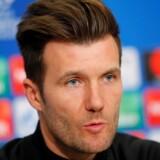 Basel kommer på hårdt arbejde, når holdet tirsdag møder Manchester City på hjemmebane, forudser holdets træner Raphael Wicky. Arkivfoto. Reuters/Denis Balibouse
