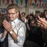 Overborgmester Frank jensen til indvielse af tilbygning til skole på Amager og internt valg-kick off møde på Østerbro forud for Kommunalvalg 2017