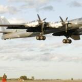 Arkivfoto: Russiske TU-95 bombefly
