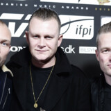 Suspekt mindes Linkoban på deres nye plade, 100% Jesus. Scanpix/Mathias Bojesen