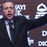 Tyrkiets præsident har kaldt Holland og Tyskland for en flok fascister og nazister. EU maner til besindelse.